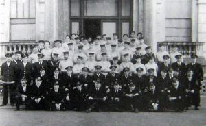 HMS WASP ML Flotilla personnel including members of the Norwegian Navy