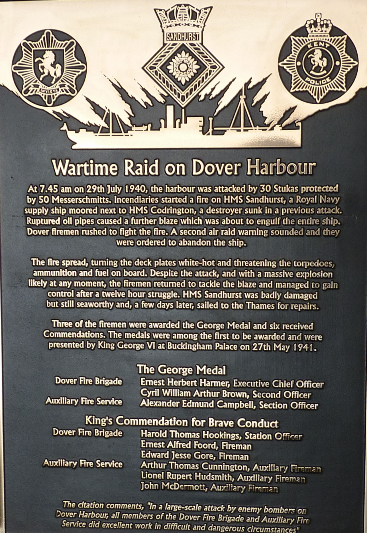 Dover Fire Service – Part II from 1939 | The Dover Historian