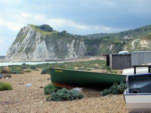 Shakespeare Beach - looking towards Shakespeare Cliff.