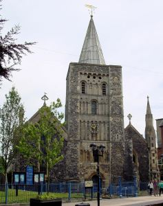 St Mary's Church, Cannon Street where those who lost their lives on the sinking of the Alert cable ship, off Dumpton Gap in February 1945, can be seen. Alan Sencicle 2009