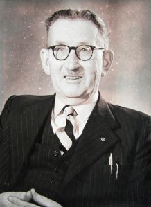 Norman Sutton Vice Chairman of the Dover & Folkestone Building Society - Courtesy of Terry Sutton