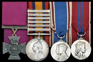 Bill Traynor's medals. Dix Noonan Webb Ltd