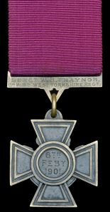 Bill Traynor's Victoria Cross.  Dix Noonan Webb Ltd