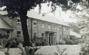 Buckland Hospital c1950 at the time Dover's cottage hospital with inpatient beds. Anglo-Canadian Trade Press