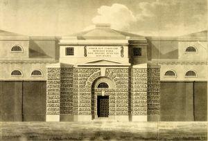Dover Gaol circa 1820. Dover Museum