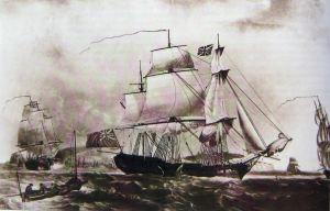East Indiaman c1800. Dover Museum