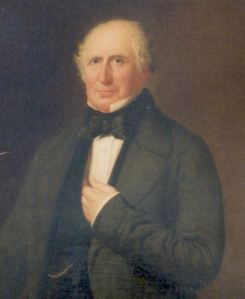 Edward Rice Liberal MP for Dover 1837-1857 who took on Parliament for a harbour of refuge at Dover. Dover Museum