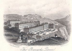 Grand Shaft Barracks 1850s. Dover Library