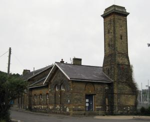 Remains of Harbour Station today. LS 2010
