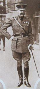 Earl Horatio Herbert Kitchener (1850-1916) Secretary of State for War 1914-1916. Evelyn Larder
