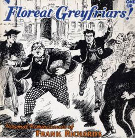 The comic Marvel front page showing Greyfriars and Billy Bunter - Wikapaedia