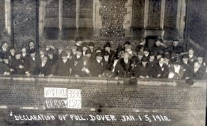 Election 15.01.1910  Montague Bradley-v-George Wyndham. Dover Museum