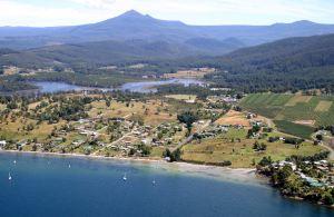 Adamsons Peak, Dover, Tasmania. Community Liaison Office, Dover, Tasmania