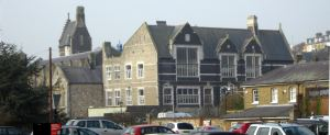 Old Technical College from Brook House Car Park