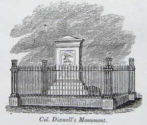 John Dixwell's Monument and burial place, New Haven, Connecticut