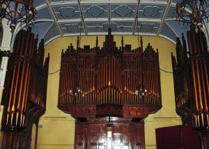 Dr Edward F Astley Organ presented 1902. Connaught Hall.