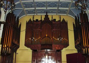 Dr Edward F Astley Organ presented 1902. Connaught Hall.