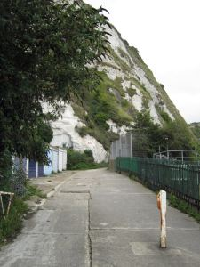 East Cliff Path to Langdon Cliffs and St Margaret's
