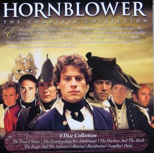 Edward Pellew played by Robert Lindsay first on right of Hornblower played by Ioan Gruffudd - ITV Video