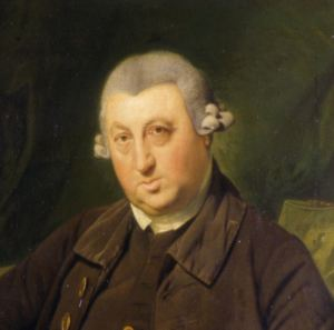 Peter Fector (detail) by Zoffany - Dover Museum