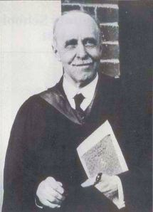 Fred Whitehouse Headmaster of what became Dover Boys' County School