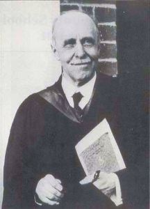 Fred Whitehouse Headmaster Dover Boys' County School the driving force to get a Public Library for Dover
