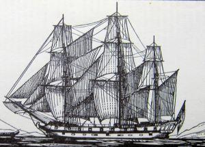 Frigate - circa 1780
