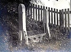 Stocks at Tilmanstone c1900. David Iron