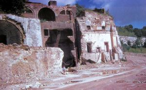 South Front Battery demolition 1960. Dover Museum