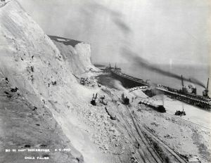 Eastern Arm - Reclamation April 1900. DHB Archives