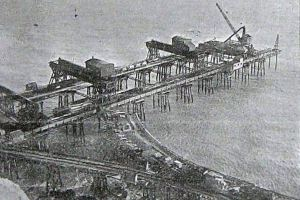 The start of the building of Eastern Arm 1901
