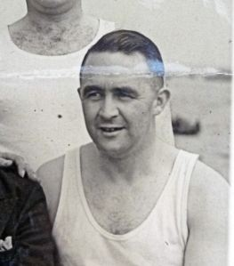 Bob Forsyth as a member of the Tyneside Rowing Team - thanks to  Jim Forsyth