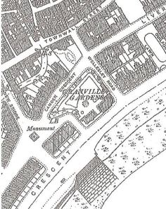 Camden Crescent and Granville Gardens 1890