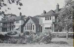 Coleman Convalescent Home 1930s, Brookfield Avenue. Dover Library