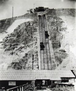 Dover, Martin Mill Railway - Funicular. Norman Johnson