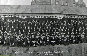 Dover Drifter Patrol outside Esplanade Hotel 1918