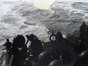 Hampton Ferry - Dropping Mines WWII. Courtesy of Ron Akines