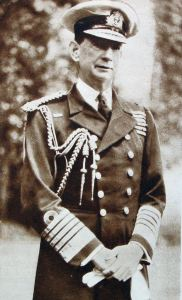 Vice-Admiral Roger Keyes (1872-1945) appointed Commander in Chief of Fortress Dover on 31 December 1917