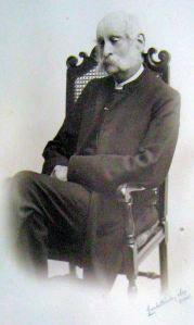 Fr Sidney Faithorn Green Rector 1889-1914. Courtesy of Fr Colin Johnson
