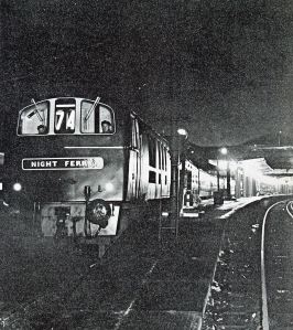 Train Ferry - Night Ferry c 1960s. Courtesy of Dover Harbour Board
