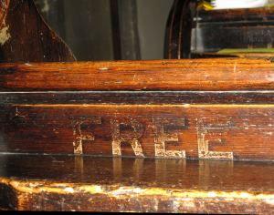 St Mary's Church - Free Pew