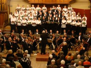 Dover Choral Society Michael Lewis conducting 04.04.2009