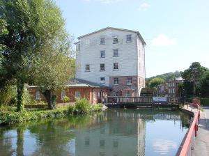Crabble Corn Mill, River.