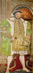 Tapestry depicting Henry VIII. Dover Town Council