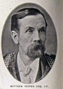 Matthew Pepper - Mayor 1895-1896