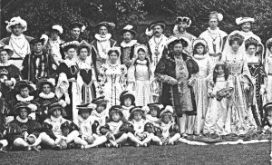 Dover Pageant 1908 - Court of Henry VIII. Dover Museum