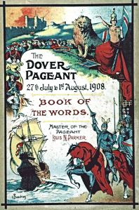 Dover Pageant Programme 1908. Dover Museum