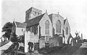 St Clements Church, Sandwich. Dover Museum