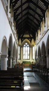Centre Aisle looking towards the great east Window