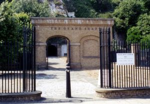 Grand Shaft, Snargate Street Entrance. Dover Museum